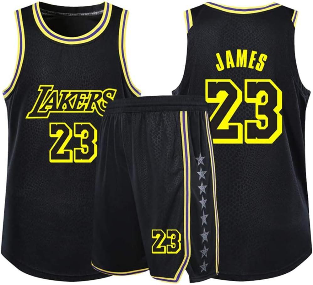 FSBYB No.23 Lebron James Los Angeles Lakers Uniforme de ...