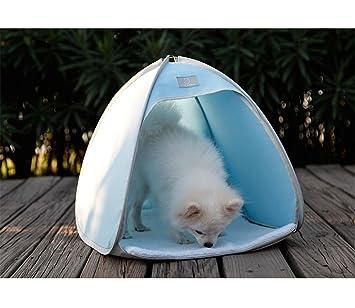 CHWU Pequeña Cama del Gato del Perro, casa Plegable de la Perrera de la Tienda