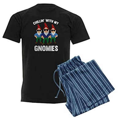 671397f26 Amazon.com  CafePress Chillin  with My Gnomies Pajama Set  Clothing