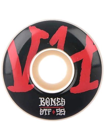 Bones Rueda para Skate Street V4 Series Annuals 103A - 53Mm Blanco (Default, Rojo