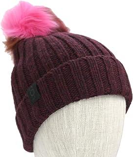 40c891c4 UGG WOMEN'S LUXE CUFF HAT W/ OVERSIZED TOSCANA POM (MEDIUM GREY ...