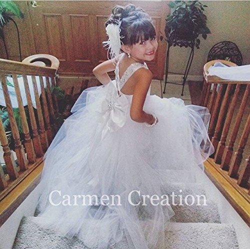 Mini Bride Flower Girl Dress