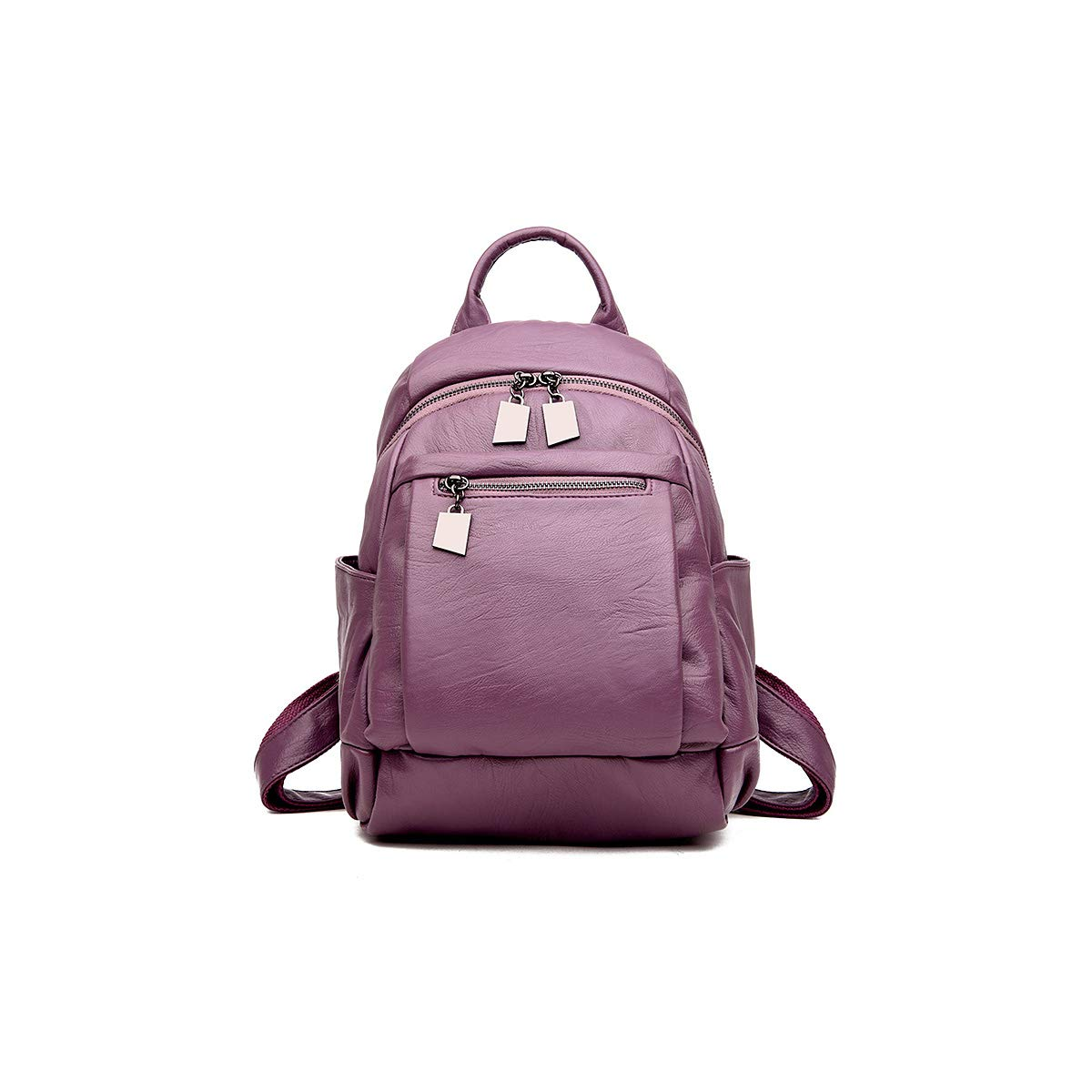 for Women /& Men ZHICHUANG Girls Multipurpose Backpack for Daily Travel//Outdoor//Travel//School//Work//Fashion//Leisure Stylish and Generous Five Colors PU Leather