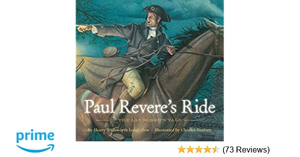 paul revere s ride henry wadsworth longfellow elizabeth