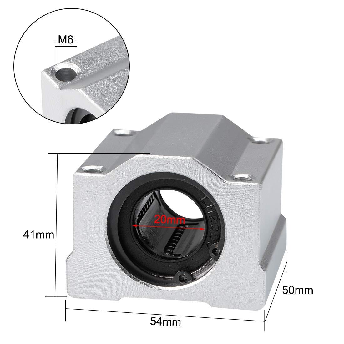uxcell/® SBR12UU 12mm Linear Motion Ball Bearing Pillow Block