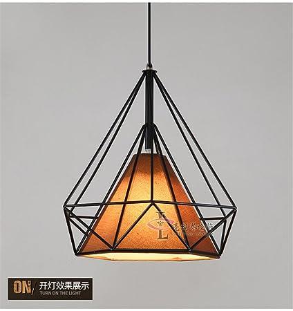 Amazoncom Nordic Creative Retro Iron Pendant Lamp Loft Individual - Individual pendant lights