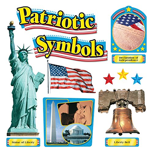 TREND enterprises, Inc. T-8066 Patriotic Symbols Bulletin Board Set
