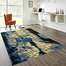 Simple Fashion Carpet Living Room Coffee Table Sofa/Modern Personality Bedroom Study Bedside Carpet-G 140x200cm(55x79inch)