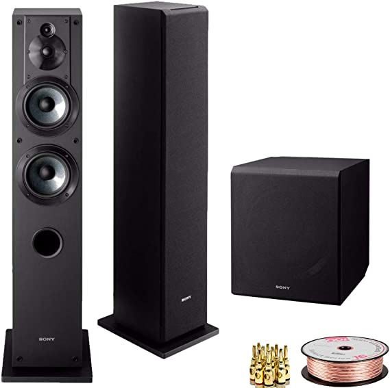 Sony SSCS3 3-Way Floor-Standing Speakers (Pair
