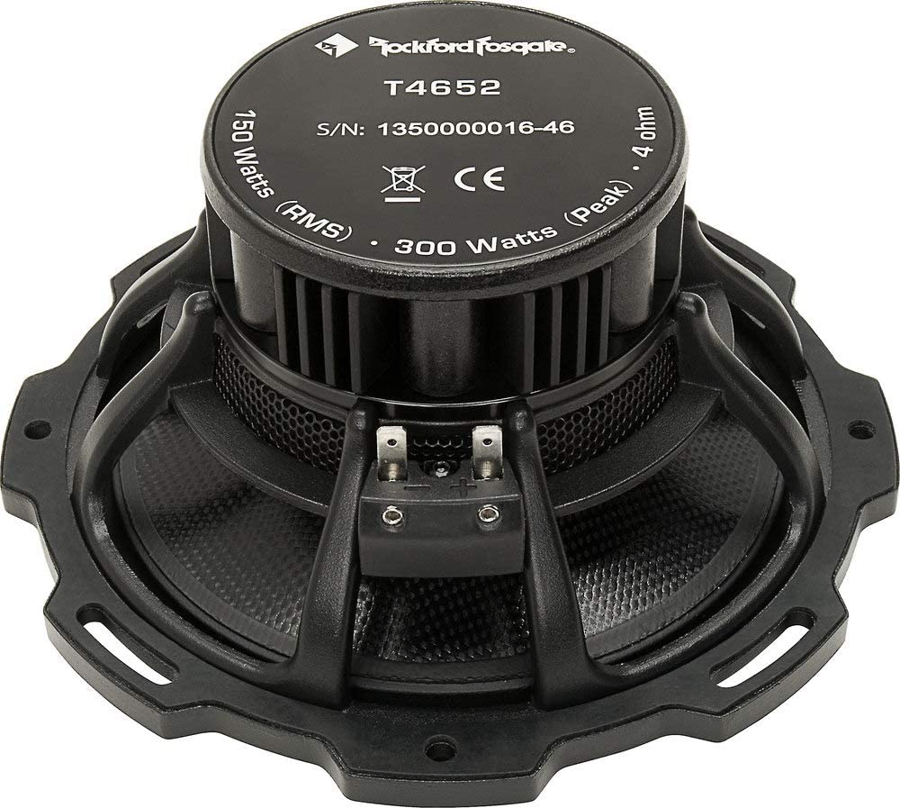 Rockford Fosgate Power T4652-S 6-1//2 Component System