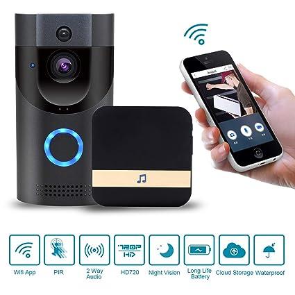 Amazon.com: Wasan 720P HD Impermeable Wireless Video ...