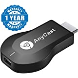 Captcha Anycast DLNA Airplay WiFi Display Miracast TV Dongle HDMI Multi-display 1080P Receiver Air Mirror Mini Android TV Stick (Assorted Colour)