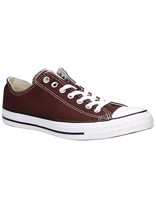 Converse Chucks Chuck Taylor All Star Low Top Ox Sneakers Damen Herren Unisex Braun