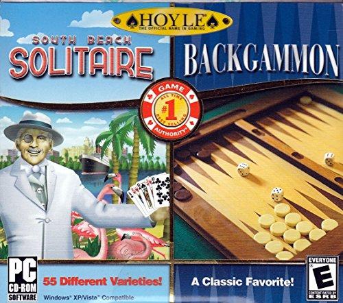 Hoyle South Beach Solitaire + Hoyle Backgammon [Old Version]