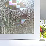 Rabbitgoo Superior No-Glue 3D Static Illuminative Privacy Window Films, ...