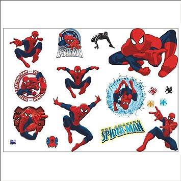 Junmaono Spidermanwall Postermuralsdecalwallpaperpaperhanging