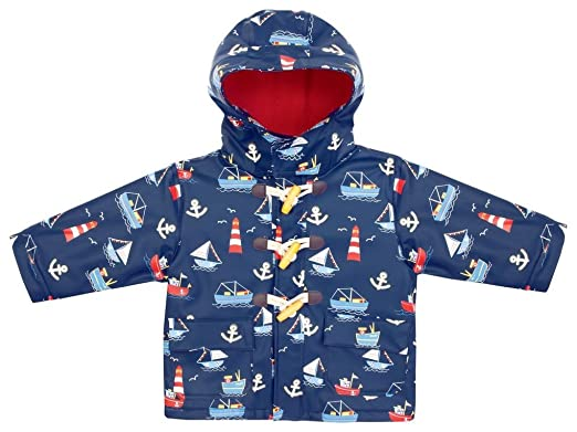 b6c5a304be41 Amazon.com  JoJo Maman Bebe Baby Boys  Fisherman s Jacket Nautical ...