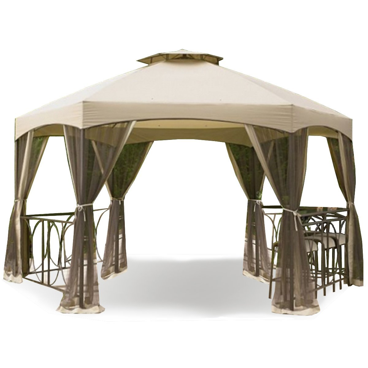 Amazon.com  Garden Winds Replacement Canopy for the Dutch Harbor Gazebo  Garden u0026 Outdoor  sc 1 st  Amazon.com : replacement canopies for gazebos - memphite.com