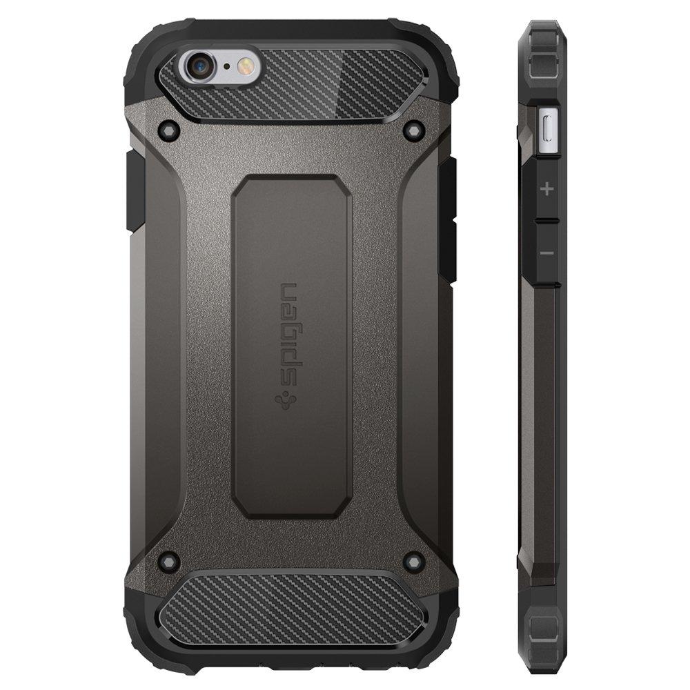 more photos dcc2e 1a1cd Spigen Tough Armor TECH Designed for Apple iPhone 6S Case (2015) / Designed  for iPhone 6S Case (2014) - Gunmetal