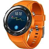 Correa de reloj OverDose pulsera de silicona de moda de correa de banda para el reloj Huawei 2 (Naranja)