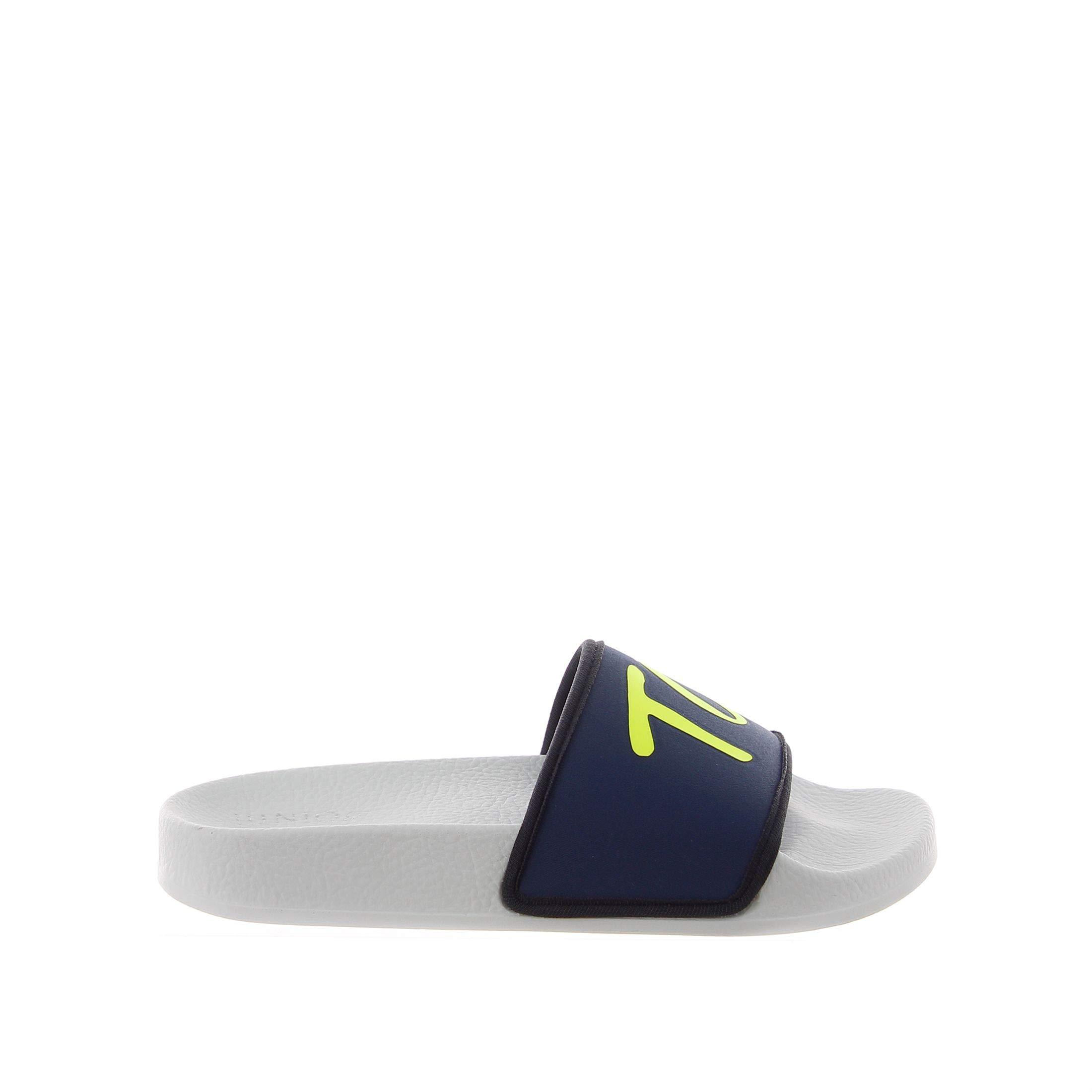Tod's Boys Uxc61b0bh90s09u803 Blue Rubber Sandals