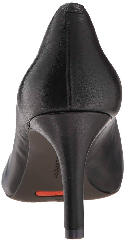 Rockport Total Damen Total Rockport Motion 75mm Spitzpumpe schwarzes Leder 39.5 EU W e193c2