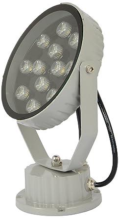Spark LED Lawn Light Wall Washer LED Light (Grey Body, 12 Watt) Light Bulbs at amazon