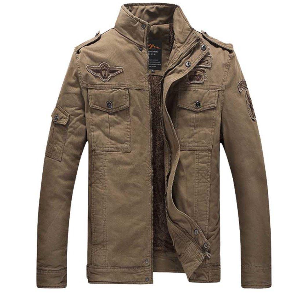Amazon.com: winter NEW bomber jacket men Military jackets Mens coats Army Jackets mens coat: Clothing