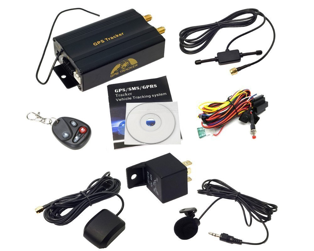 61bm6bX7W3L._SL1000_ amazon com sourcingbay 103b vehicle car gps tracker with remote Wiring Harness Diagram at mifinder.co