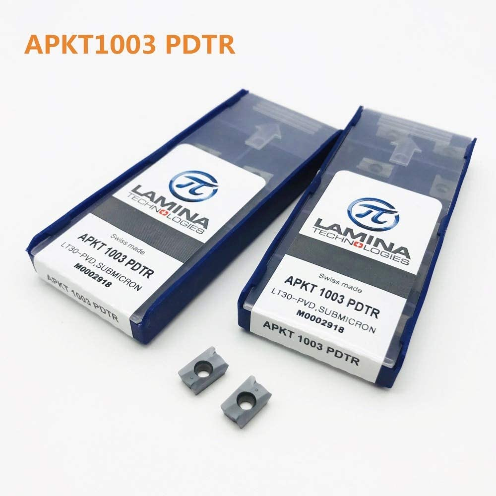 10pcs APKT1003 PDTR CNC High quality carbide insert thread insert