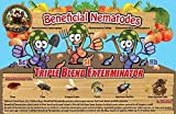 30 Million Live Beneficial Nematodes Hb+Sc+Sf - Kills Over 200 Different Species of Soil Dwelling and Wood Boring Insects.
