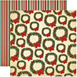 Reminisce ACS-00 A Christmas Story3 12 by 12-Inch Double Sided Scrapbook Paper