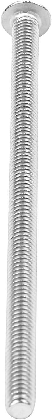 Gaetooely Vis /à T/êTe Ronde en Acier Inoxydable 4 Mm Taille de Boulon 10 M4 X 75 Mm Quantit/é par Paquet Type /à Boulons /à T/êTe Hexagonale M4