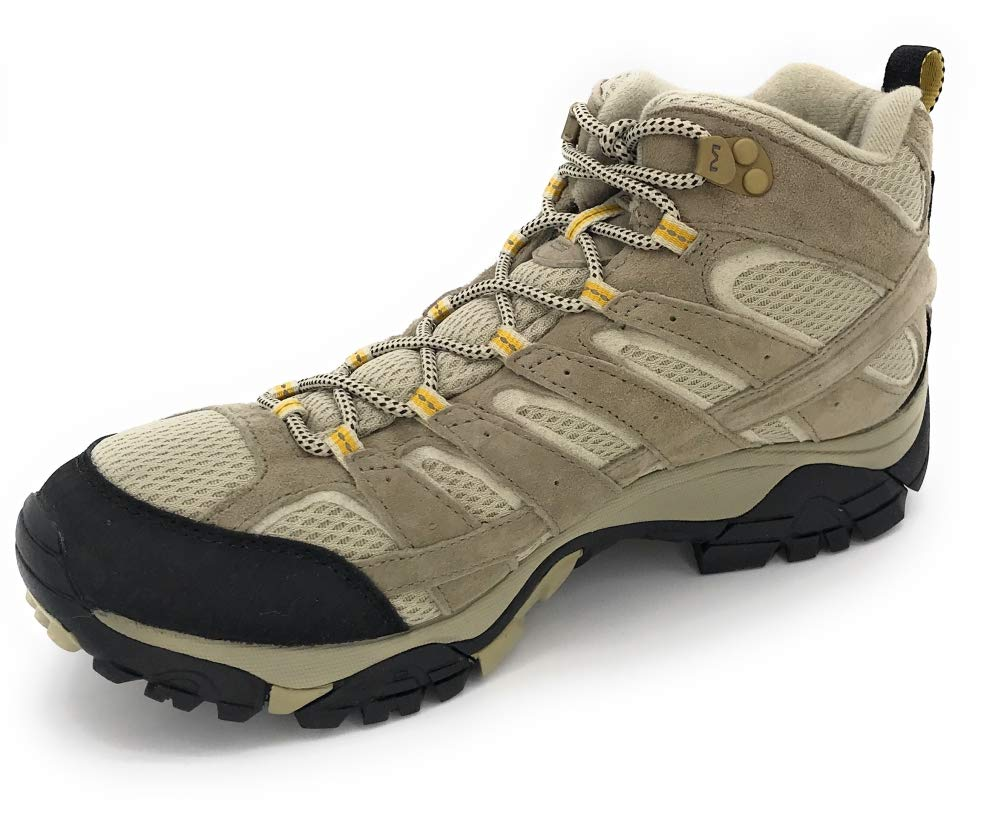 Merrell Women's Moab 2 Vent Mid Hiking Boot, Taupe, 8 W US by Merrell