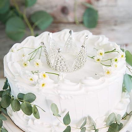 AVAFORT - Decoración para tarta, diseño vintage de corona de ...