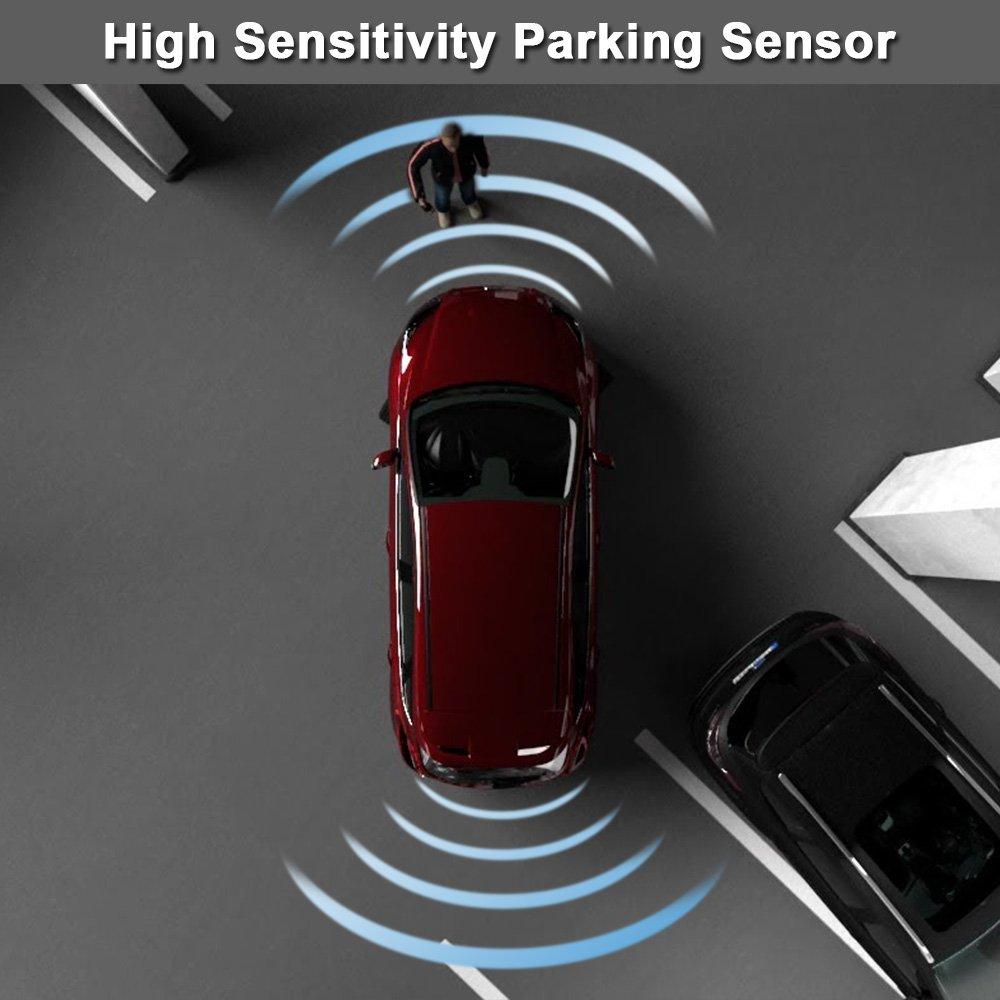KKmoon 66206989069 Estacionas Sensor Aparcamiento PDC Sensor de Ayuda Delantero/Trasero: Amazon.es: Coche y moto