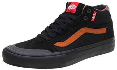 f3206b527d Image Unavailable. Image not available for. Colour  Vans Style 112 Mid Pro  Dakota Roche Black Ginger Skate Shoes