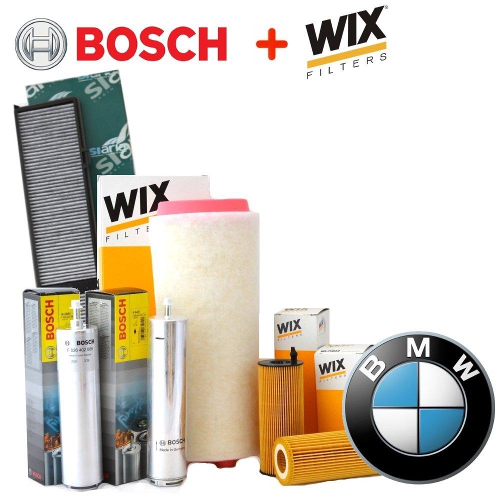 Kit tagliando 4 filtri VARI WIX E BOSCH (WL7236, 1457431708, WA6573, V3229)