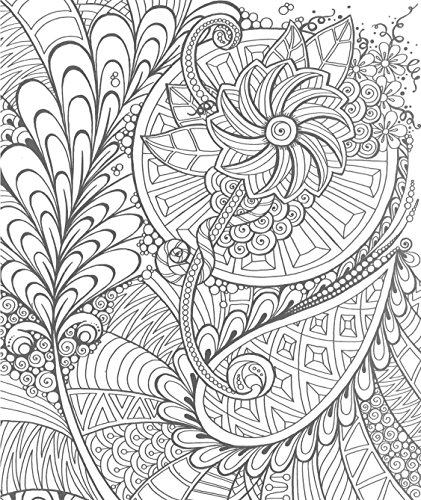 Zendoodle Coloring Creative Sensations Hypnotic Patterns To Color And Display