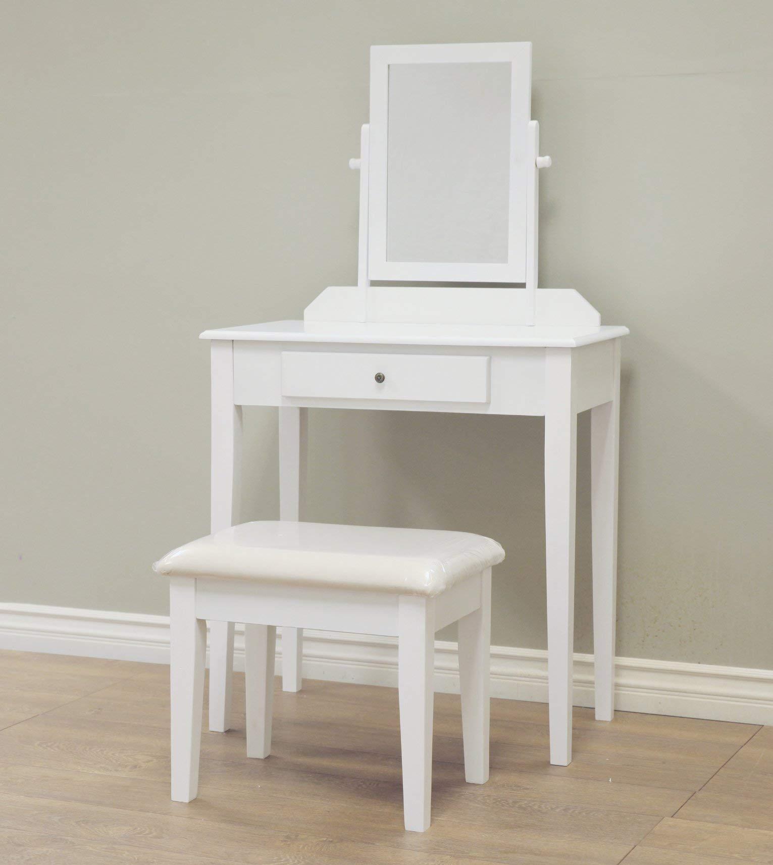 Frenchi Home Furnishing  3 Piece Wood Vanity Set by Frenchi Home Furnishing