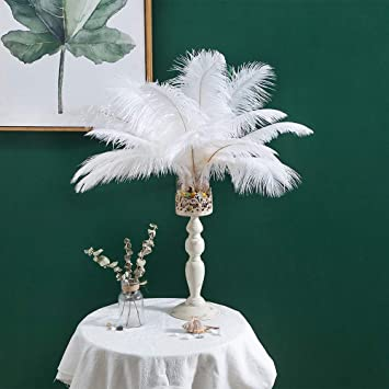 35-40cm Natural Ostrich Feathers Beautiful 10-200pcs High Quantity 14-16inch