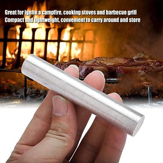 Magnesio Varilla de Metal Mg Elemento Bar Alta Pureza 99.99% Al Aire Libre Acampar Hacer Fuego Herramientas Supervivencia Accesorio de Emergencia 3 ...