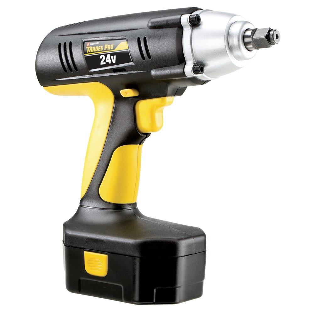 Tradespro 837212 24-volt 1 /2インチドライブコードレスインパクトレンチキット B00E6EF826