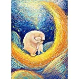Comic Puzzle, Jigsaw Puzzles for Adults, 300-3000 Pieces Hugging Bear Puzzles, Home Decoration Toys Gift (Size : 300pieces)