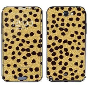 Diabloskinz B0091-0055-0001 - Skin de vinilo para Samsung Galaxy Note 2, diseño de piel de guepardo
