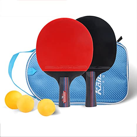 X&M Ping Pong Padel - Raqueta de Tenis de Mesa Pro Premium 2,Raquetas y