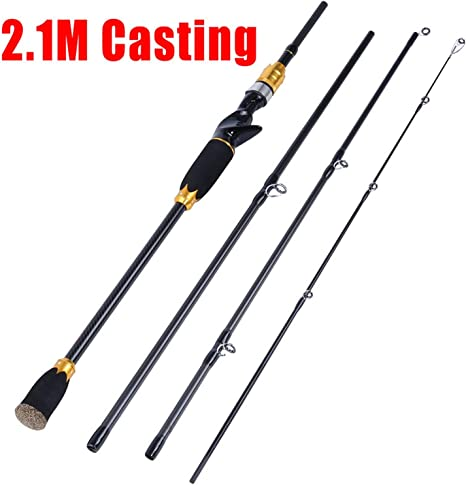 Spinning Casting Fishing Rod 36 Ton Carbon O Ring Line Guides ...