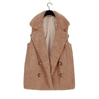 ... Cortas Faux Fur Tallas Grandes otoño Señora Chalecos Rebajas Dama Caliente chaquetón Acolchado Fiesta Moda Primavera: Amazon.es: Ropa y accesorios