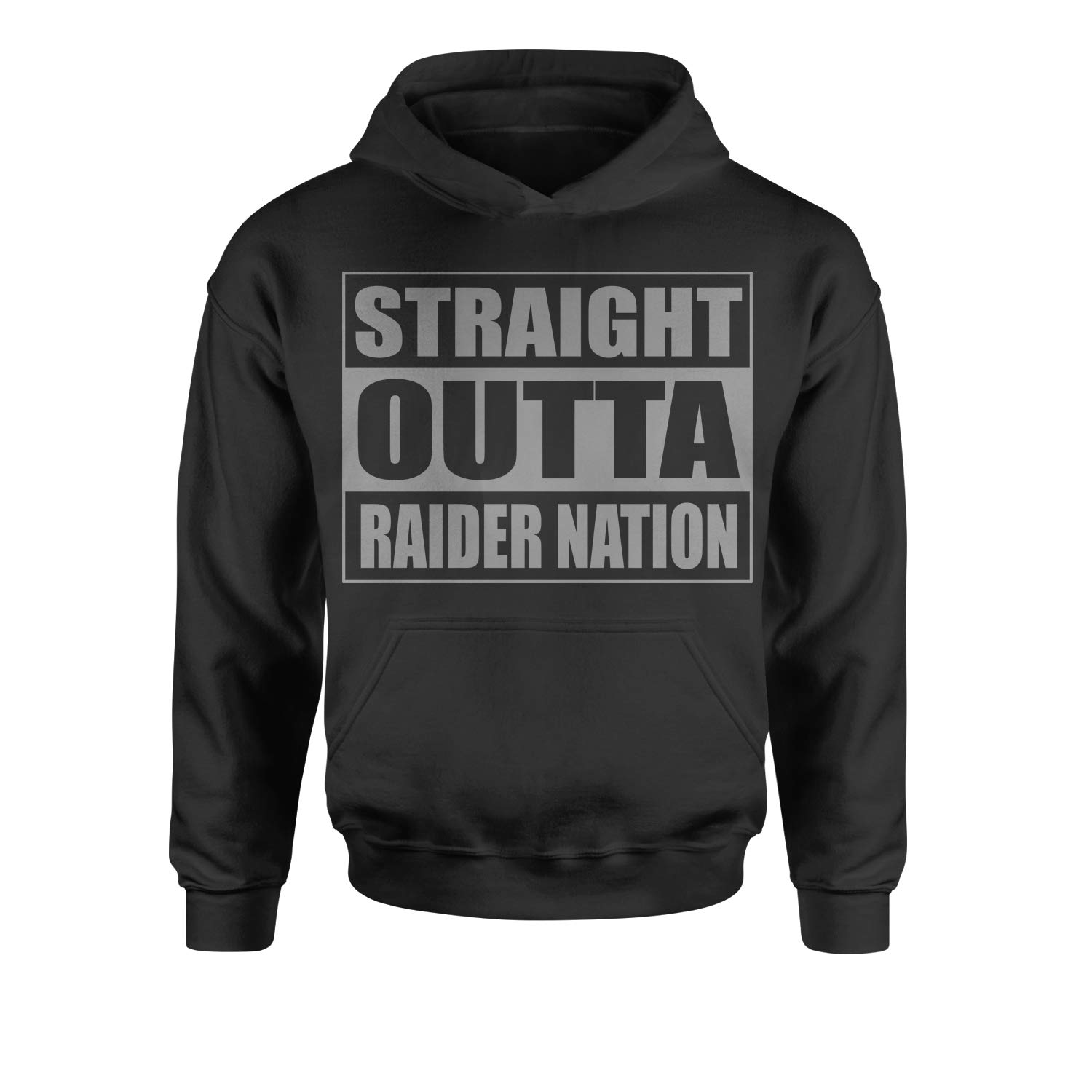 Motivated Culture Straight Outta Raider Nation Youth-Sized Hoodie