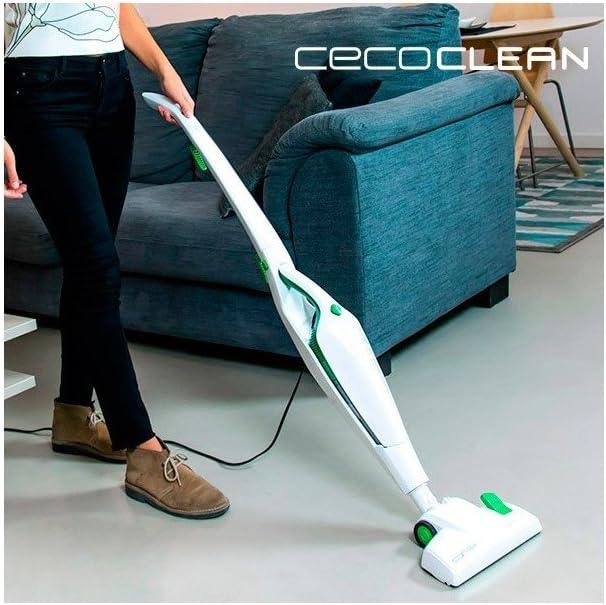 Scopa elettrica ciclonica senza sacchetto cecoclean duo stick 5005 (1000044809): Amazon.es: Hogar